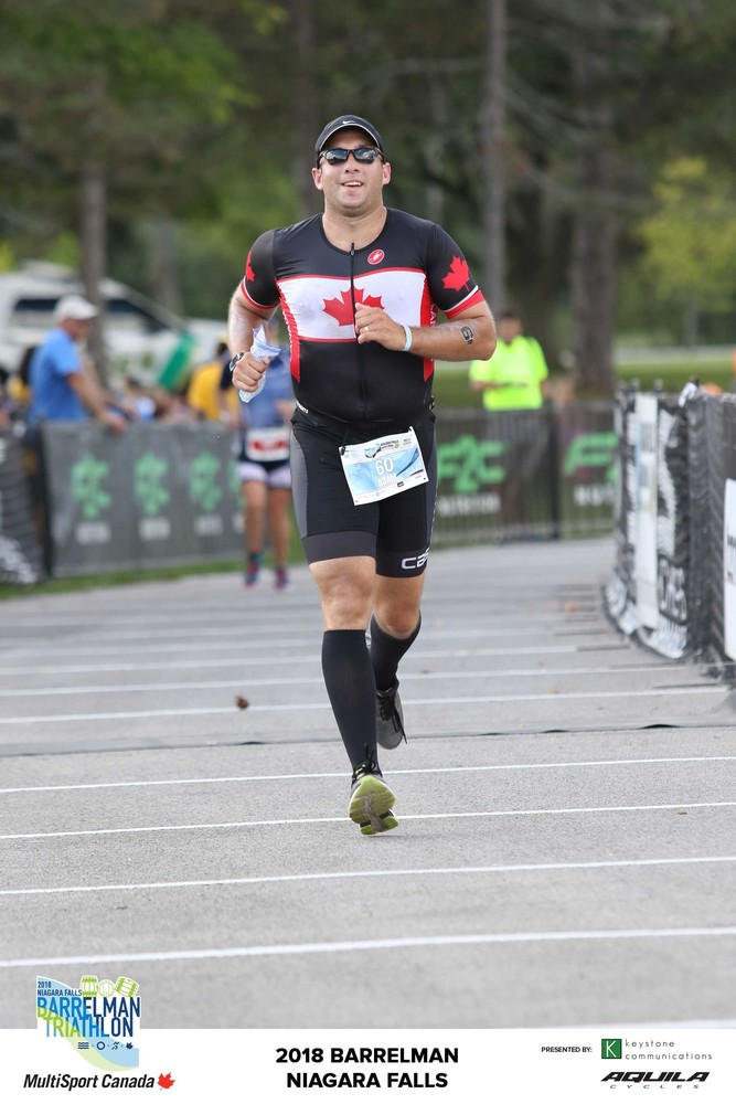 Barrelman 2018 70.3. It was my first half ironman distance and was a hot one. It was 40 Degrees in Mid-September