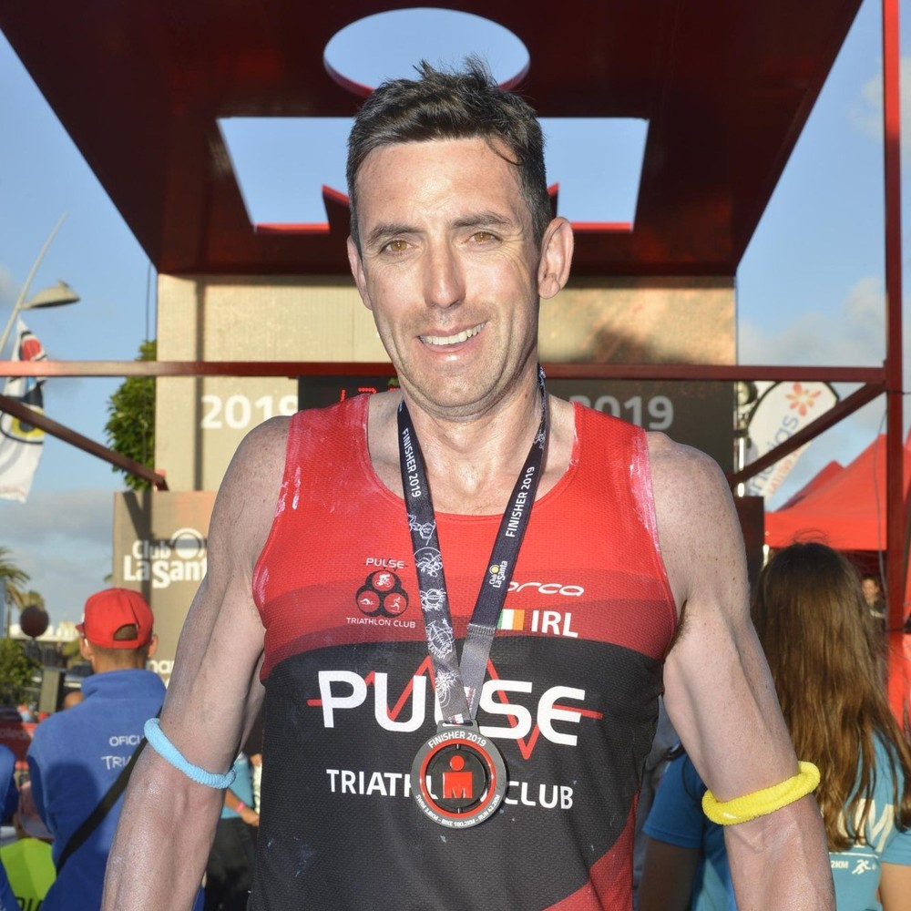 Ironman Lanzarote 2019 Finisher pic