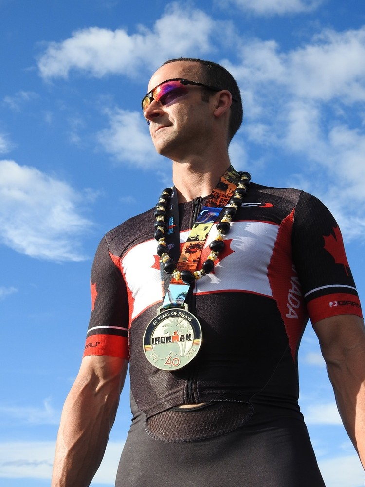 Ironman World Championship 2018, finisher's medal and lei