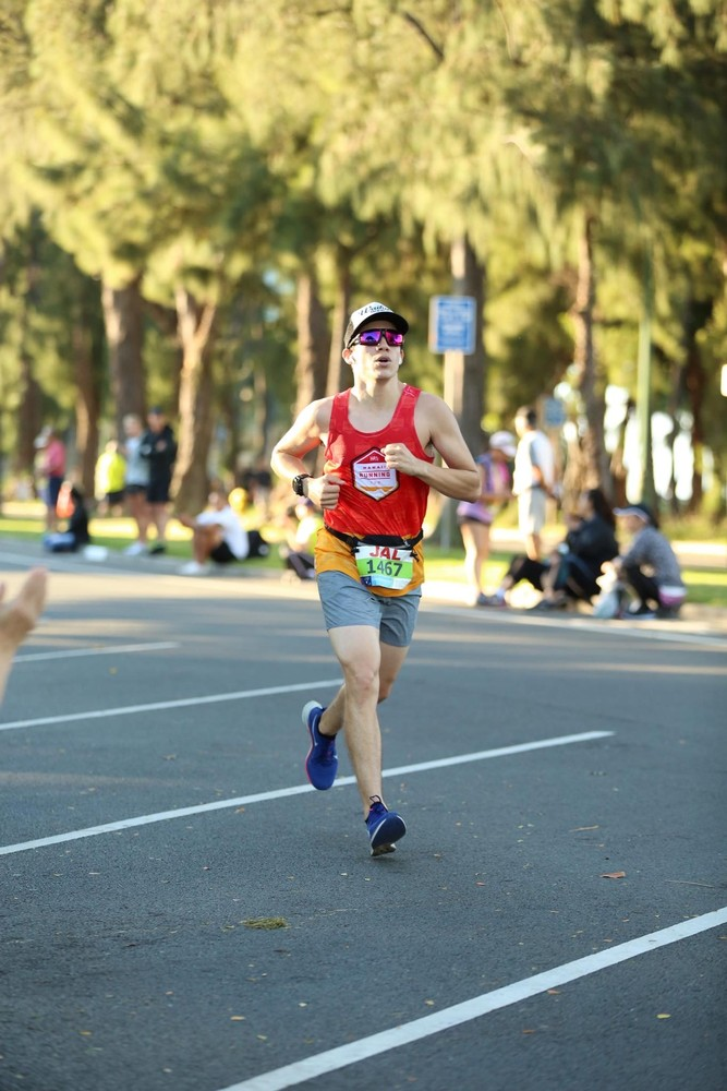 Finishing the Honolulu Marathon at 3:09