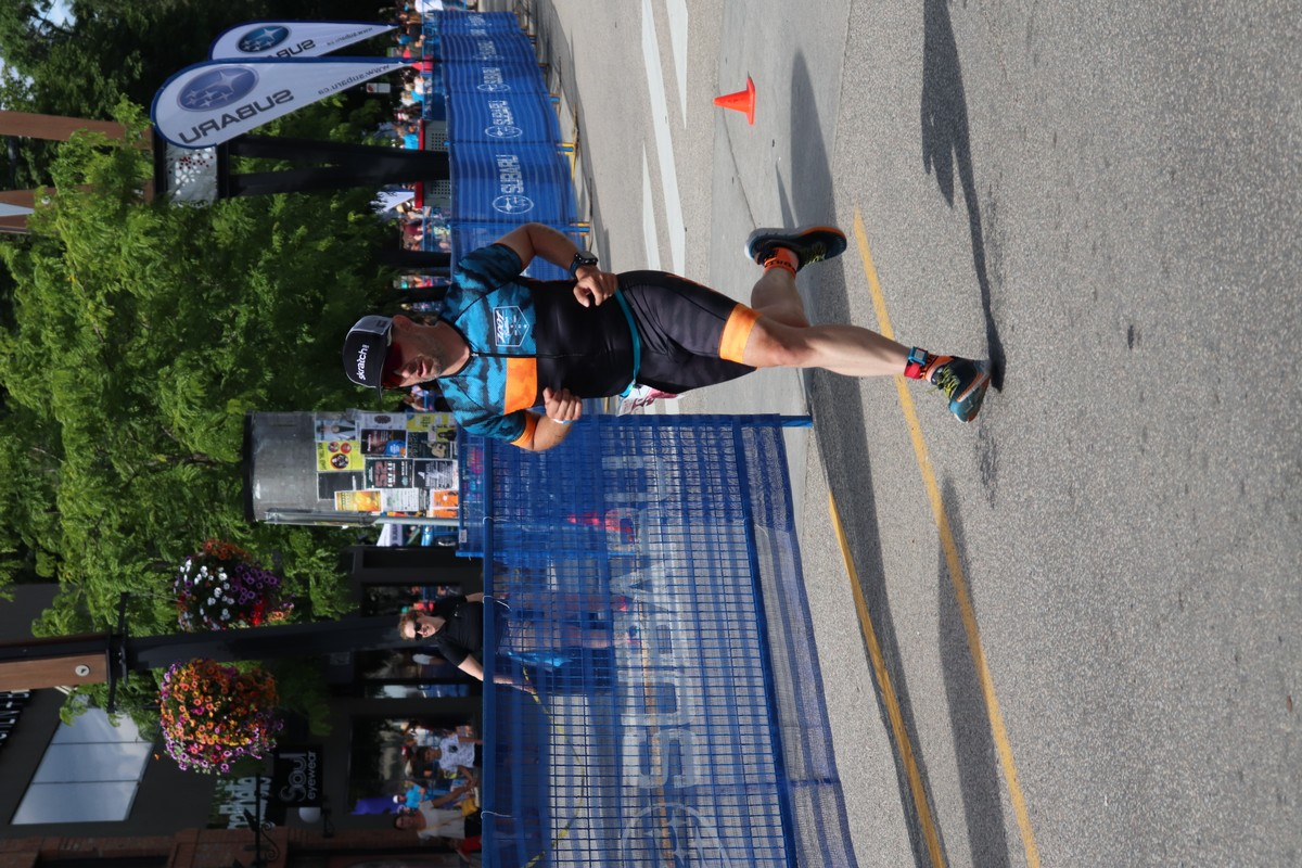 Kelowna Apple Triathlon 2019 Run Finish